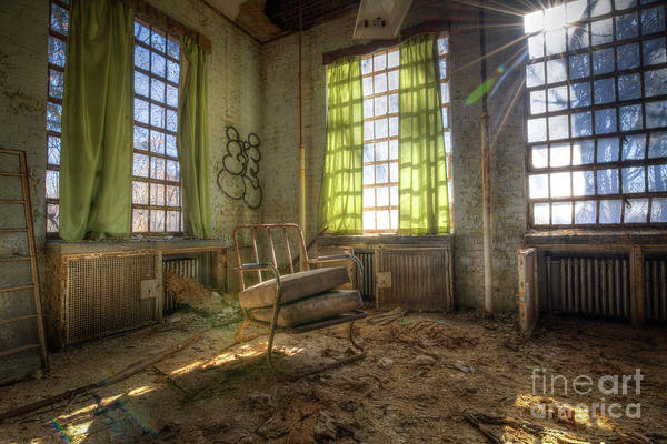 Wall Art - Photograph - Sitting In Filth  by Michael Ver Sprill