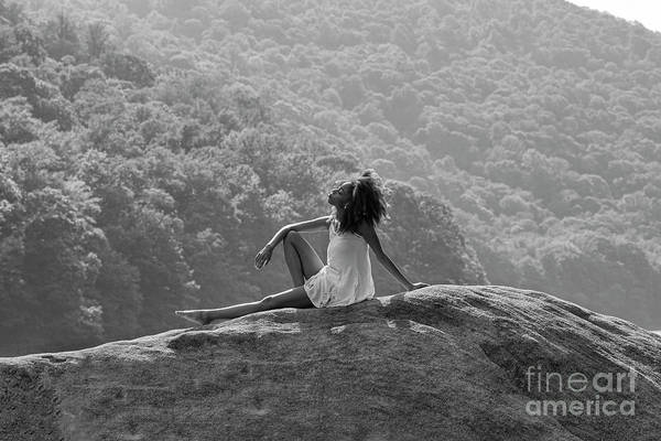 Photograph - Sitting On The Rock by Dan Friend