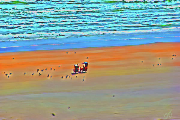 Photograph - Sitting With Sea Birds by Gina O'Brien