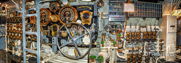 Photograph - Siversides Control Room by Nick Zelinsky