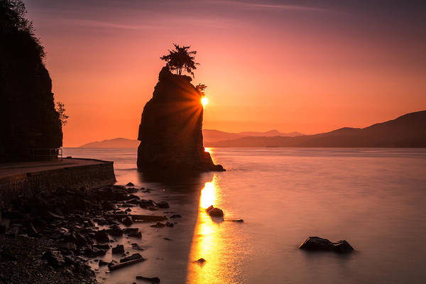 Photograph - Siwash Rosk Sunset by Pierre Leclerc Photography