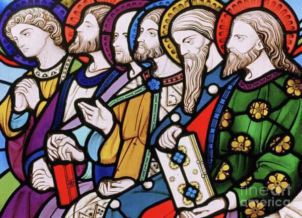 Wall Art - Glass Art - Six Apostles by John Richard Clayton