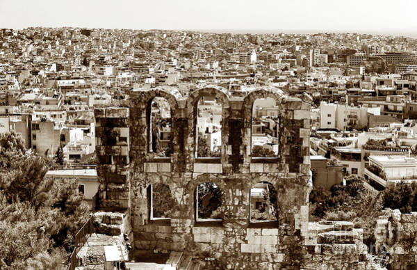 Photograph - Six Arches In Athens by John Rizzuto