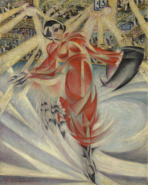 Figure Skater Painting - Six Days Or Skater by Mountain Dreams