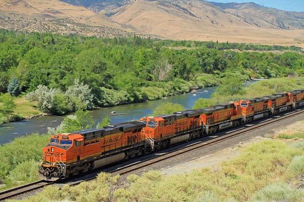 Truckee River Photograph - Six Engines by Donna Kennedy