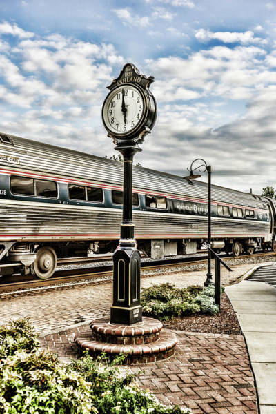 Photograph - Six Oclock Train by Sharon Popek