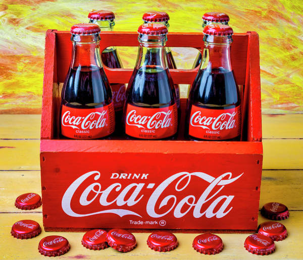 Coca Cola Photograph - Six Pack Of Cokes by Garry Gay