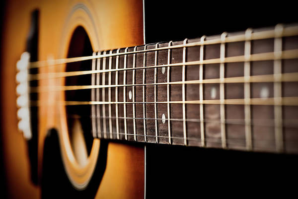 Photograph - Six String Guitar by  Onyonet  Photo Studios