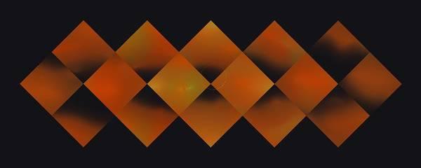 Digital Art - Sixteen Box Orange by Doug Morgan