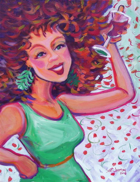 Painting - Sizzle And Pop by Jeanette Jarmon