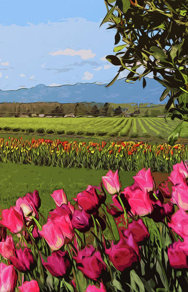Skagit Valley Painting - Skagit Valley - Landscapes Of America by Andrea Mazzocchetti
