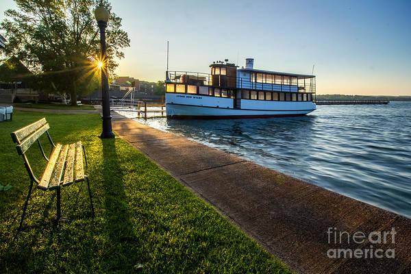 Photograph - Skaneateles Lake Sunrise by Rod Best