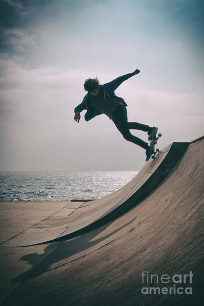 Photograph - Skater Boy 007 by Clayton Bastiani