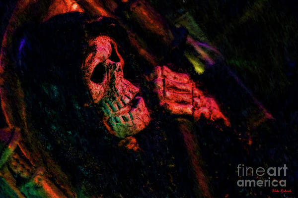 Photograph - Skeleton Look Out by Blake Richards