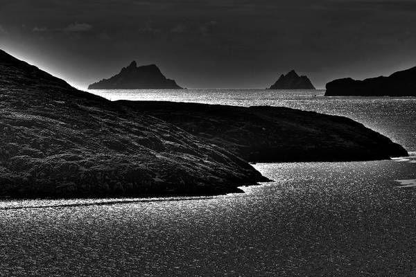 Photograph - The Skelligs, Kerry, Ireland by Aidan Moran