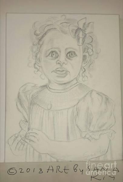 Painting - Sketch For Evelynn Painting by Oksana Semenchenko