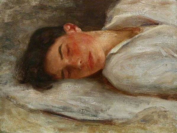 Painting - Sketch For Summer Dreams  by Henry Scott Tuke