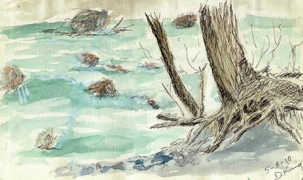 Painting - Sketchbook 001 by David King