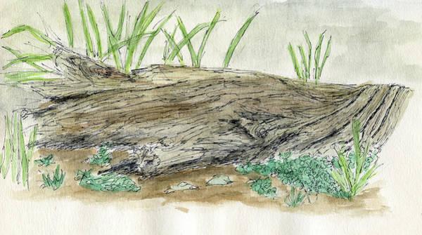 Painting - Sketchbook 004 by David King