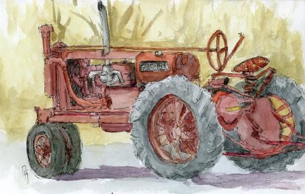 Painting - Sketchbook 010 by David King