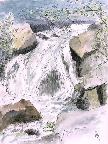 Painting - Sketchbook 013 by David King