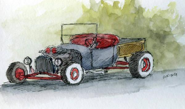 Painting - Sketchbook 028 by David King
