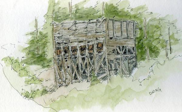 Lead Mine Wall Art - Painting - Sketchbook 042 by David King