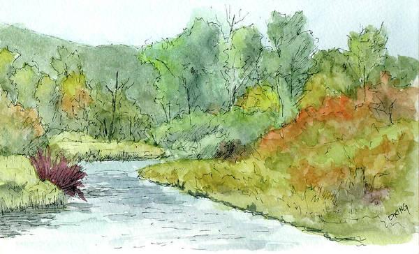 Painting - Sketchbook 065 by David King