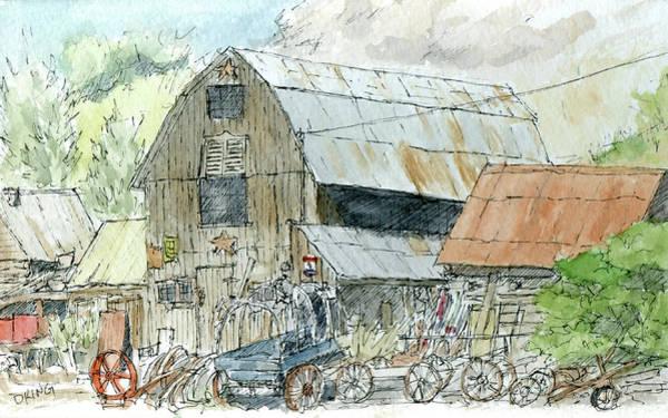 Painting - Sketchbook 067 by David King