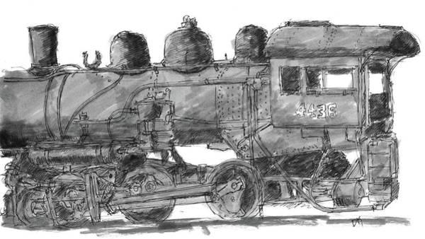 0 Painting - Sketchbook 075 by David King