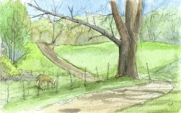Painting - Sketchbook 079 by David King