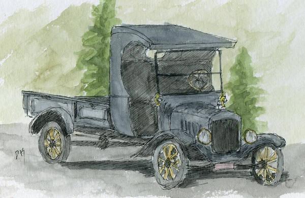 Painting - Sketchbook 081 by David King