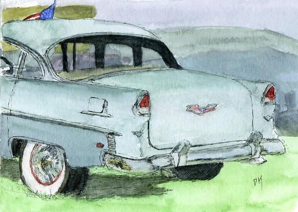 Painting - Sketchbook 084 by David King