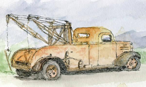 Painting - Sketchbook 085 by David King