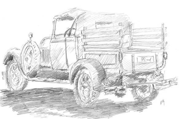 Drawing - Sketchbook 086 by David King