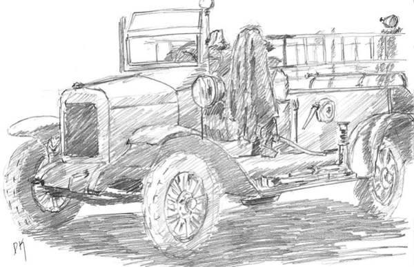Drawing - Sketchbook 087 by David King