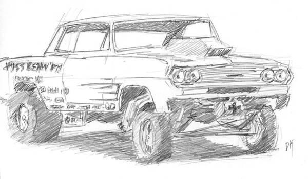 Drawing - Sketchbook 089 by David King