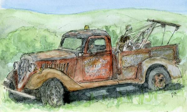 Painting - Sketchbook 092 by David King