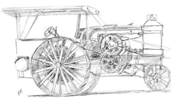 Drawing - Sketchbook 093 by David King
