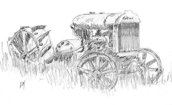Drawing - Sketchbook 094 by David King