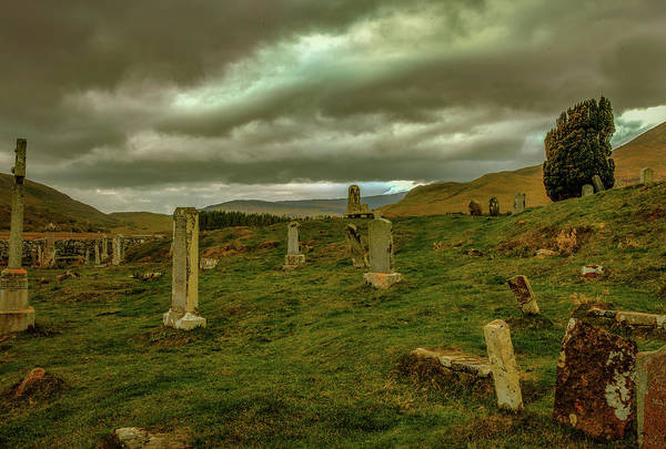 Photograph - Skies And Headstones #g9 by Leif Sohlman