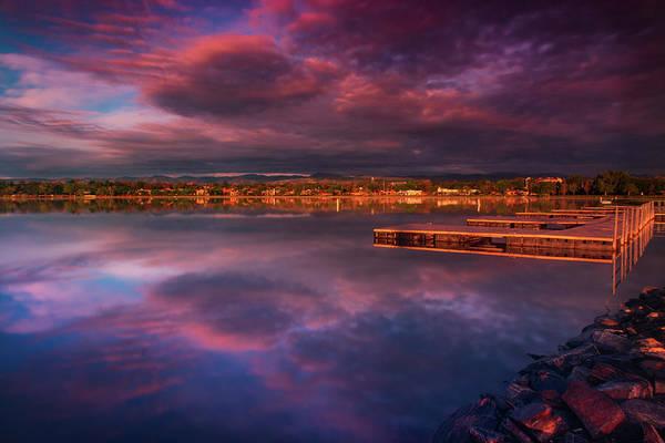 Photograph - Skies Of Golden Hour by John De Bord