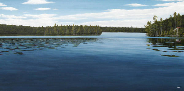 Painting - Skinners Bay Muskoka by Kenneth M Kirsch