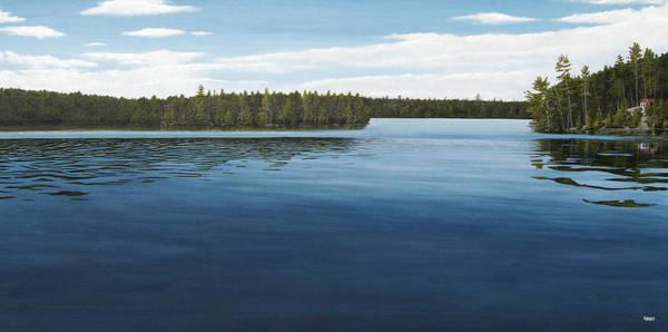Painting - Skinners Bay Muskoka by Kenneth M Kirsch