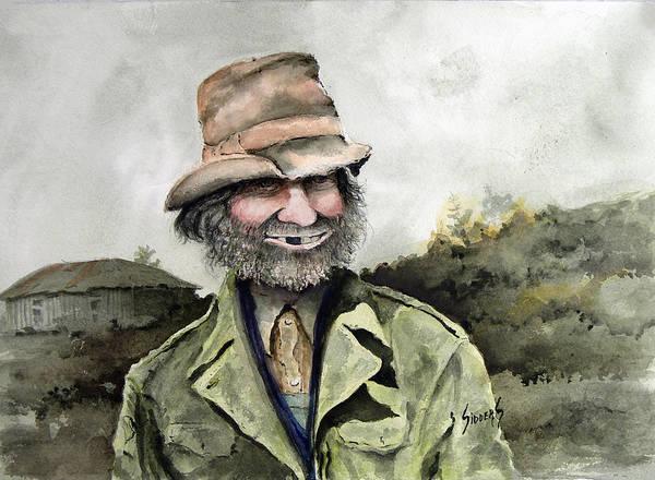 Painting - Skinny Benny by Sam Sidders