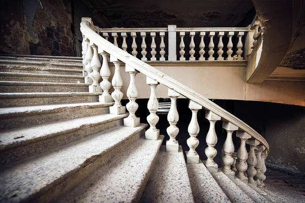 Wall Art - Photograph - Skirt Stair by Svetlana Sewell