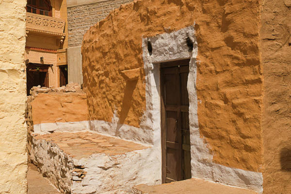 Mud House Photograph - Skn 1264 Thatched House by Sunil Kapadia
