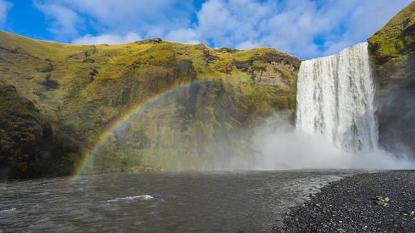 Photograph - Skogafoss Rainbow by James Billings