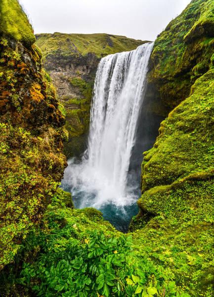 Wall Art - Photograph - Skogafoss Waterfall by Angela Aird