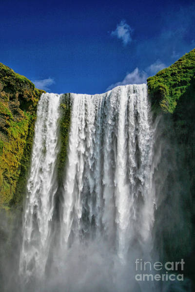 Wall Art - Photograph - Skogafoss Waterfall Iceland by Patricia Hofmeester
